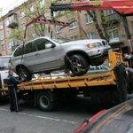 Порядок эвакуации автомобиля